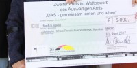 Prize giving ceremony in Berlin: 2nd place in Inclusion competition