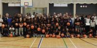 100 Participants attend DHPS & BAS basketball camp