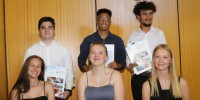 Well-equipped to face the world - DHPS Bids Farewell to 6 Realschul-Graduates