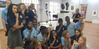 At first hand: Gr. 6 Art Excursion