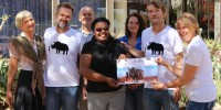 DHPS Alumni Association, NWG & NEWS hand over donation to Save the Rhino Trust
