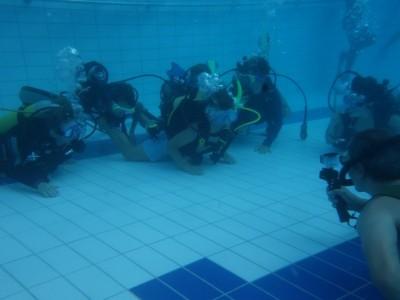 DHPS Unterwasser-AG  - Underwater extra-mural