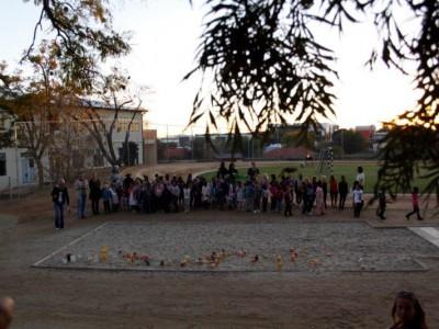 DHPS-Vorschule feierte Laternenfest