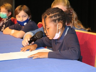 DHPS-Vorlesewettbewerb - Reading Competition 2021