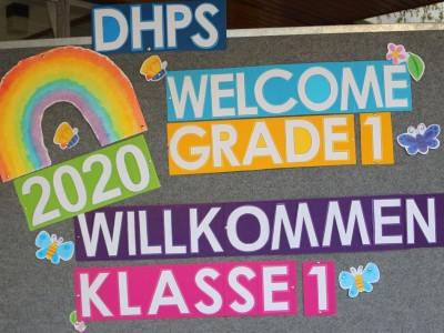 DHPS Einschulung 2020 - First Day of School 2020