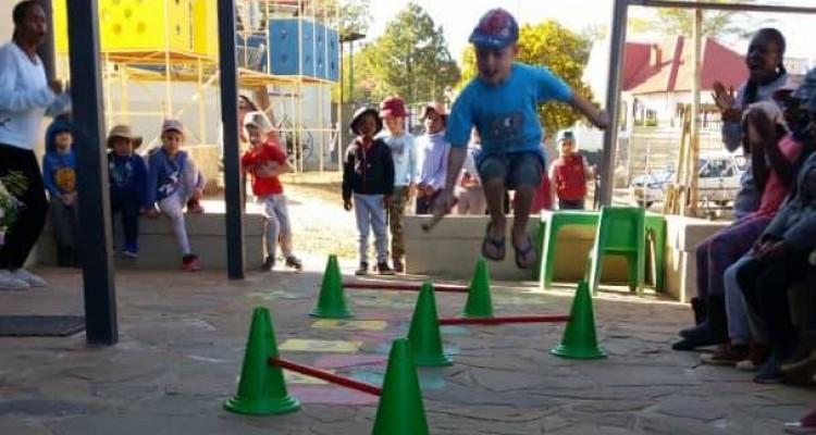 Sport und Kreativität im Vorschulferienprogramm