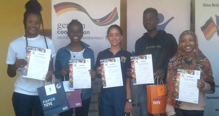 DHPS Learners Successful at Goethe Institute Language Competition