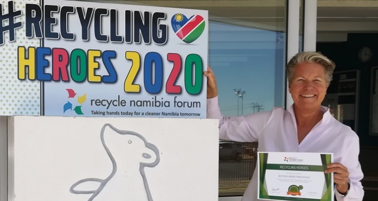 "Schools recycling Competition Namiba: DHPS ranked 4th ""Recycling Hero"""