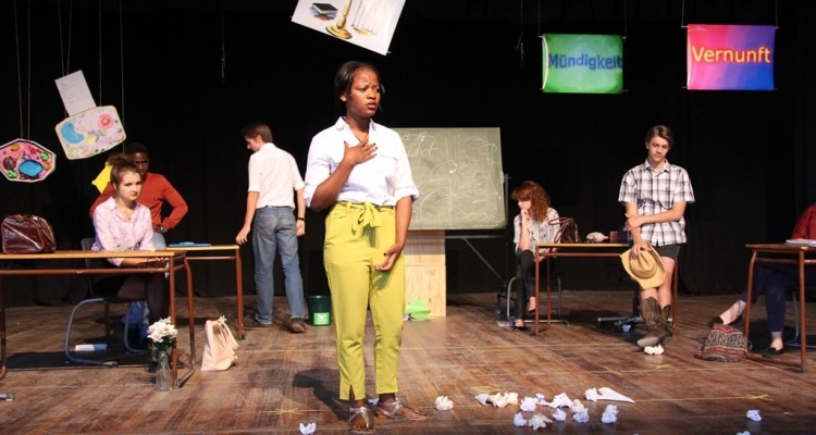 """DHPS Theatre Group presents """"Ms Müller must go!"""""""