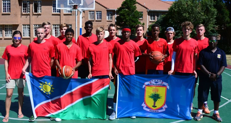 Basketballfestival: DHPS-Penguins in South Africa