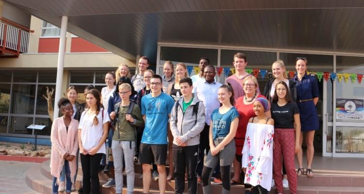 Schüleraustauschprogramm zwischen Fulda/Deutschland und DHPS Windhoek