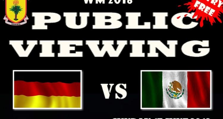 Fußballweltmeisterschaft an der DHPS - Turnier & Public Viewing