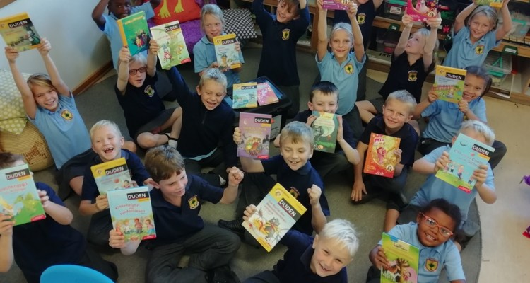Book boxes for our Primary School