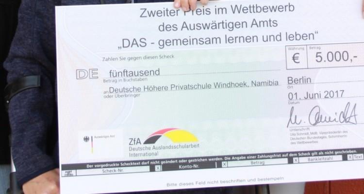 Preisverleihung in Berlin: 2. Platz im Inklusionswettbewerb