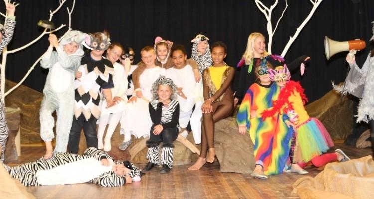Ein erfolgreiches afrikanisches Märchen: DHPS-Musical Kwela, Kwela!
