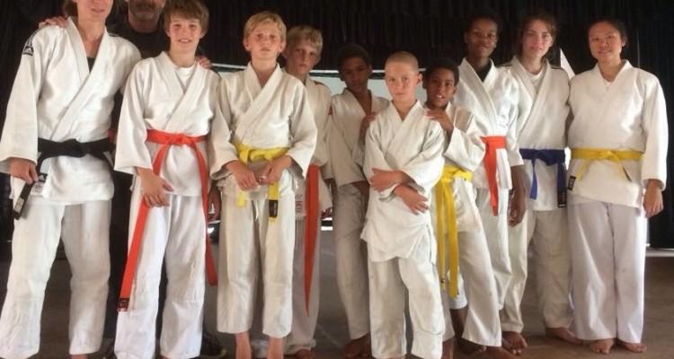 DHPS Judoka visit Private School Swakopmund