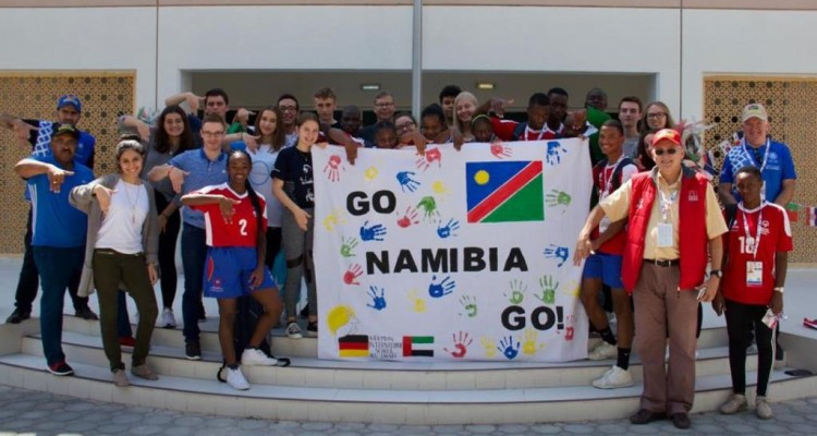 DHPS als Partner bei den Special Olympics: Namibisches Team gewinnt Bronze