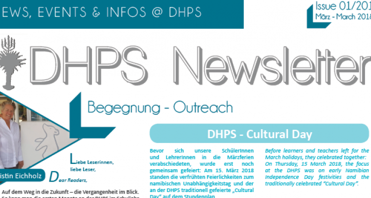 New DHPS Newsletter: March 2018