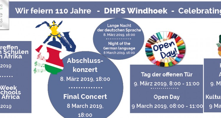 Celebrating 110 years DHPS: Open Day & DKR Cultural Festival