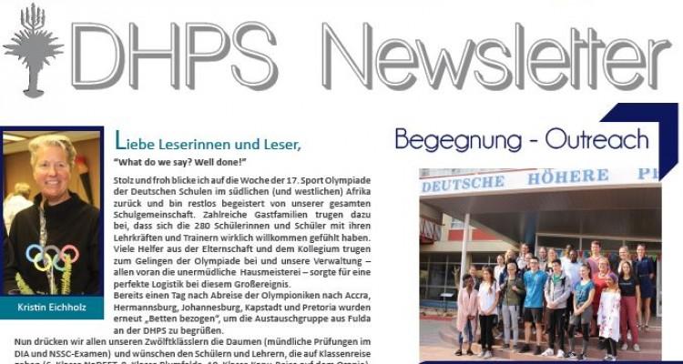 Neuer DHPS-Newsletter: September 2018